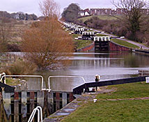 Caen Hill Locks, Kennet & Avon Canal, Devizes